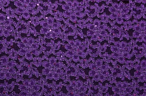 Stretch Lace (Eggplant/Purple)