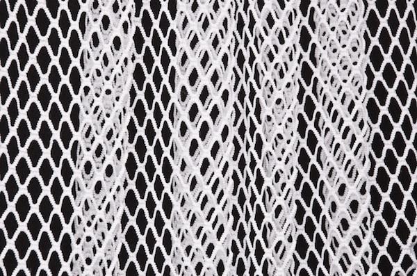 Big Hole Fishnet (White)