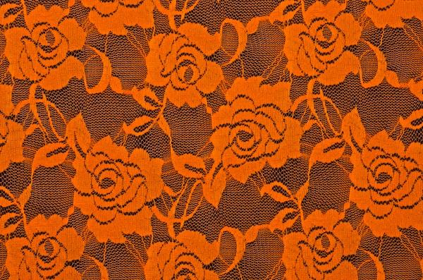 Stretch Lace (Orange)