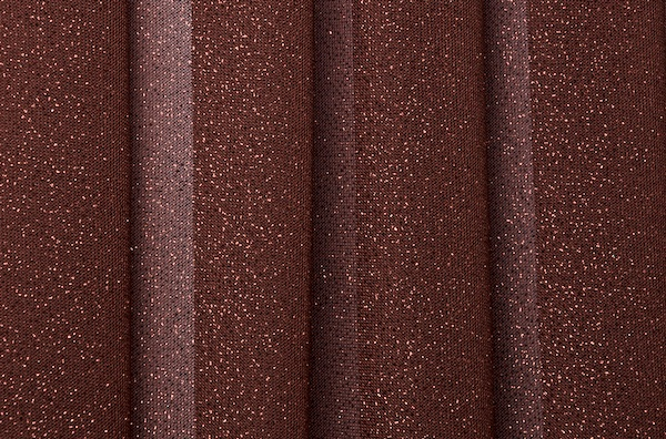 Sheer Glitter/Pattern (Brown)