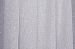 Sheer Glitter/Pattern (White/Silver)