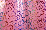 Pattern/Abstract Hologram (Pink/Red/Purple/Multi)