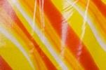 Pattern/Abstract Hologram (Orange/Yellow Tie Dye/Clear)