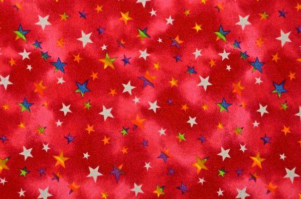 Printed Stars (Red/White/Multi)