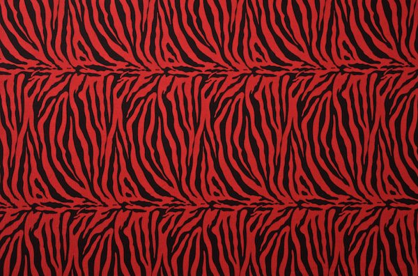 Animal Prints (Red/Black)