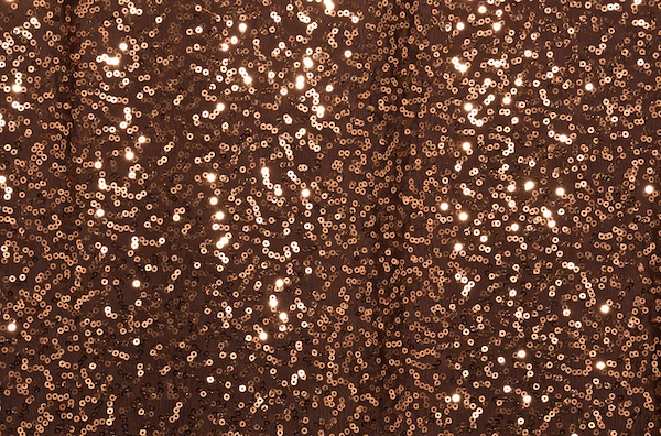 Stretch Sequins (Brown/Copper)