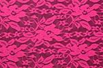 Stretch Lace (Hot Pink)