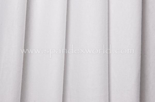 Cotton Lycra® (White) (Light weight)