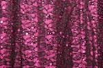 Stretch Sequins Lace (Black/Magenta)
