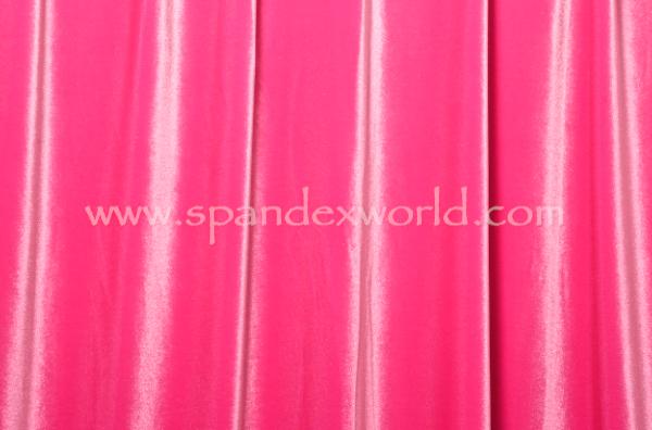 Stretch Solid Velvet (Hot Pink)