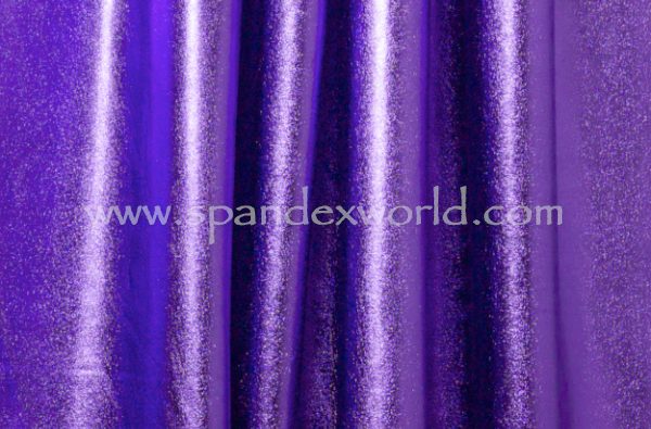 4 Way Metallic Spandex-shiny (Purple)
