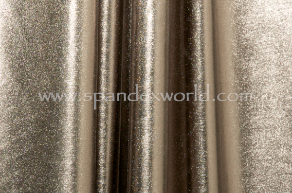 4 Way Metallic Spandex (Gun Metal/Black)