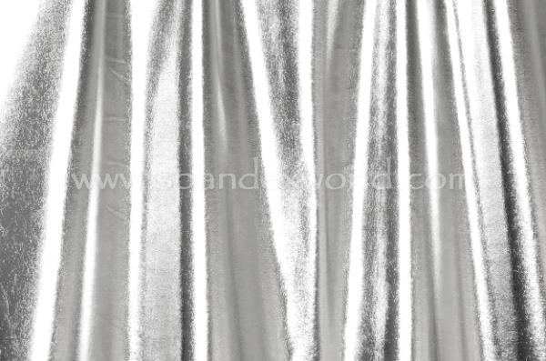 2 Way Metallic Spandex (Silver)