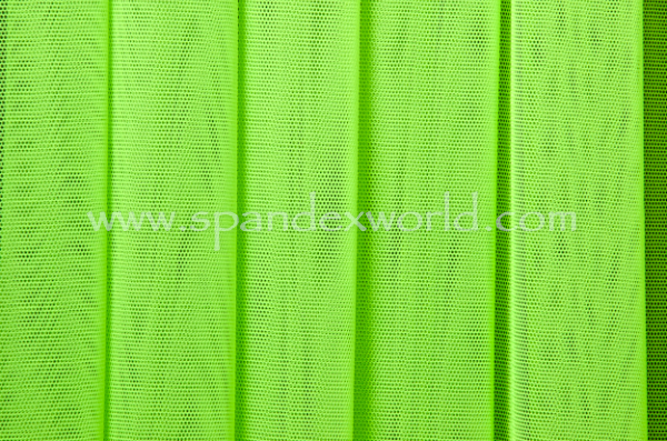 Stretch Solid Mesh ( Neon green)