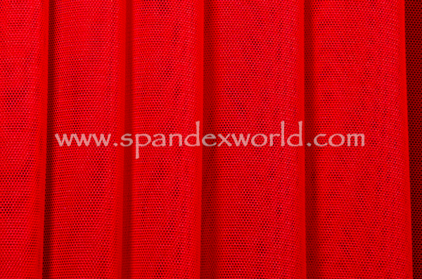 Stretch Solid Mesh (Red)