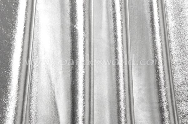 4 Way Metallic Spandex-shiny (Silver)