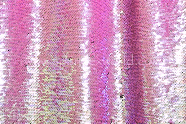 Reflective stretch Sequins (Black/pink/Pearl)
