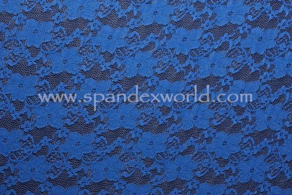 Stretch Lace (Royal Blue)