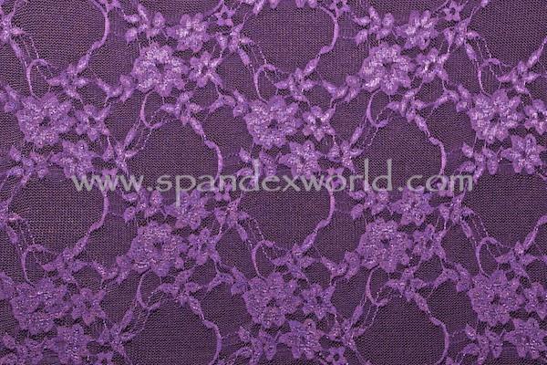 Stretch Lace (Purple)