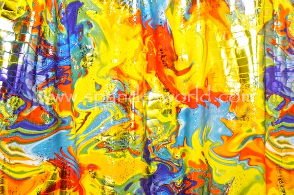 Pattern/Abstract Hologram (Yellow/Red/Blue/Multi)
