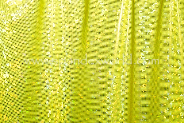 Shattered Glass Holograms (Chartreuse/Gold)