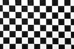 Checkered prints 1'' (Black/White)