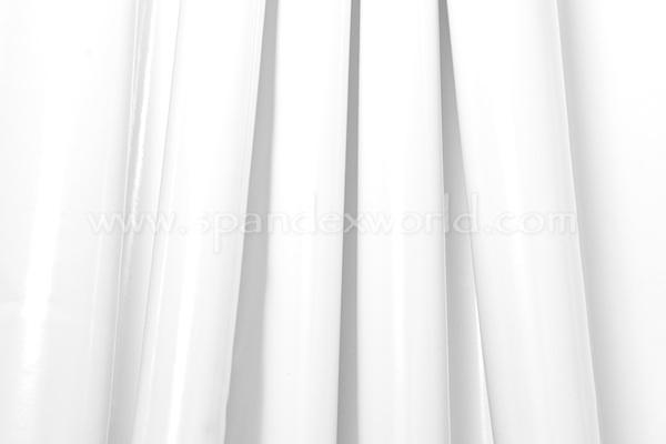 4 Way Stretch Vinyl-Shiny (White)