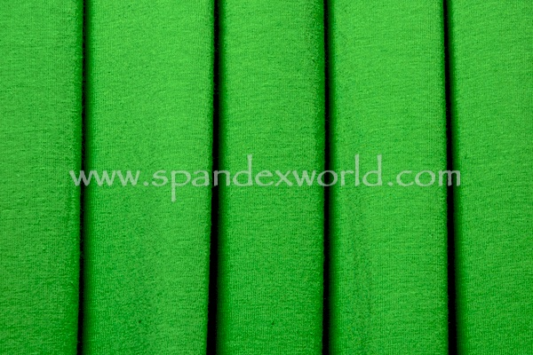 Solid Cotton Lycra® (Kelly green)(medium weight)