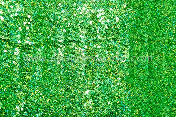 Stretch Sequins (Kelly Green/Kelly Green Holo)