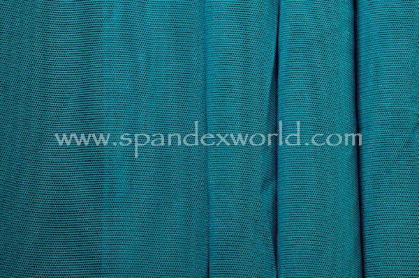 Stretch Solid Mesh (Teal)