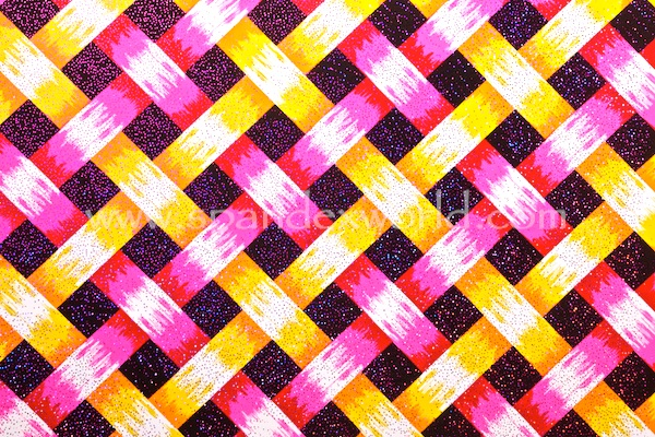 Pattern/Abstract Hologram (Pink/Red/Yellow/Multi)