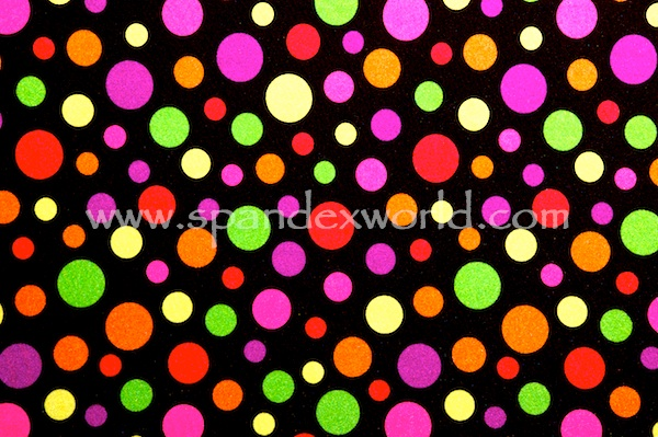 Printed Polka Dots (Black/Multi)