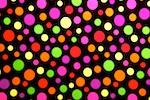 Printed Polka Dots (Black/Multi)