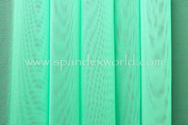 Stretch Solid Mesh (Mint)
