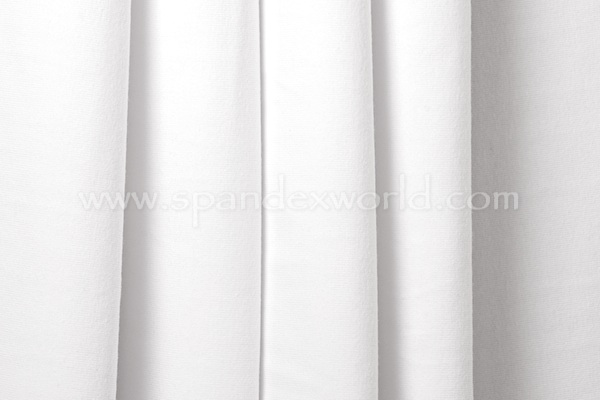 Cotton Lycra® (White) (Medium-weight)