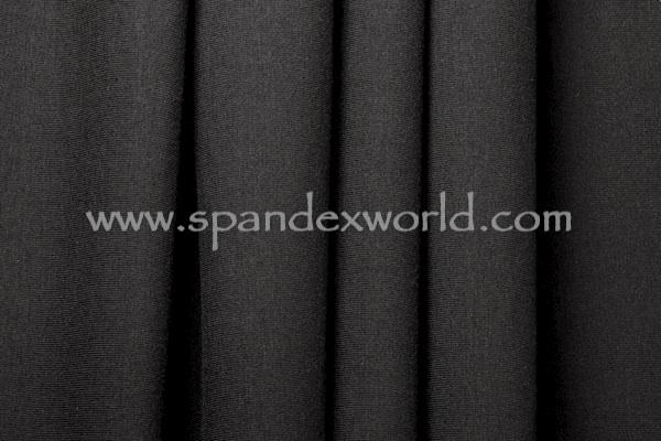 Cotton Lycra® (Black) (Medium-weight)