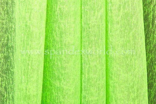 Sheer Glitter/Pattern (Neon Green/Neon Green)