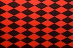Printed Spandex (Black/Red)