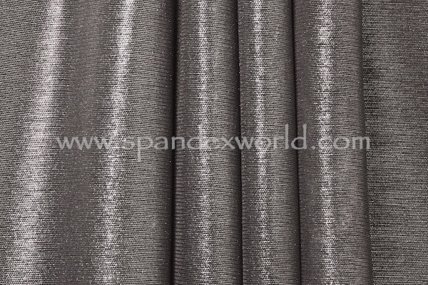 Metallic Mesh (Black/Silver)