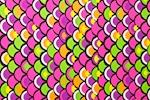 Printed Spandex (Fuchsia/Lime/Purple/Multi)