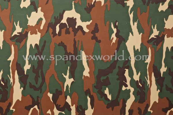 Printed Camouflage (Forrest Green/Brown/Tan/Black)
