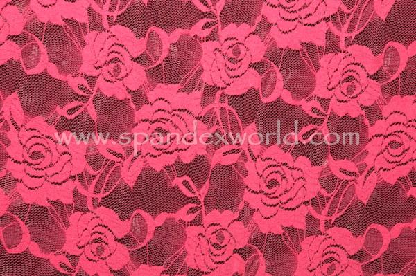 Stretch Lace (Rose)