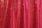 Glitter/Pattern Velvet (Burgundy/Burgundy)