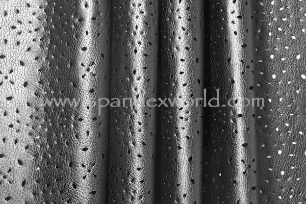 Pattern Faux Leather (Black)