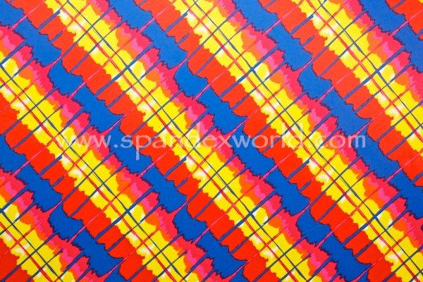 Printed Spandex (Red/Blue/Yellow/Multi)
