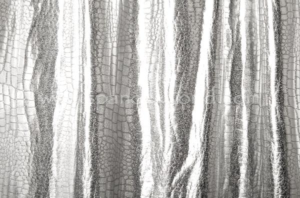 Metallic Pattern Spandex (Black/Silver)