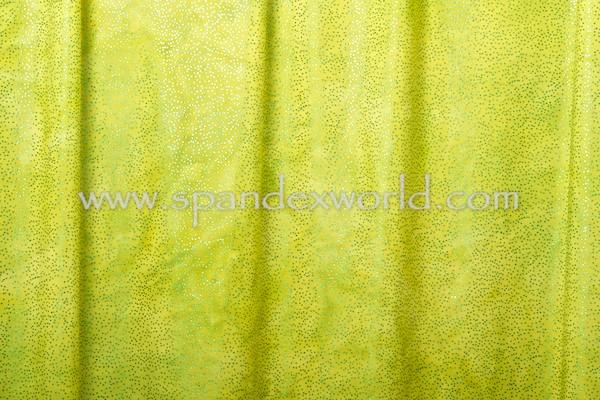 Tie dye foil dot(Chartreuse/Kelly)