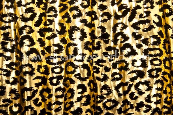 Animal Print Hologram (Gold/Black)