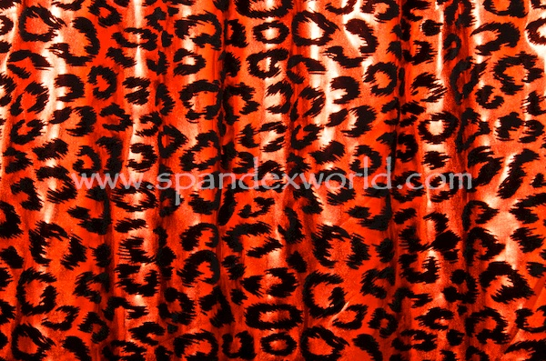 Animal Print Hologram (Red/Black)
