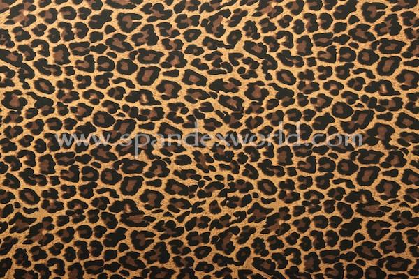 Animal Prints -Poly spandex (Black/Beige/Brown)